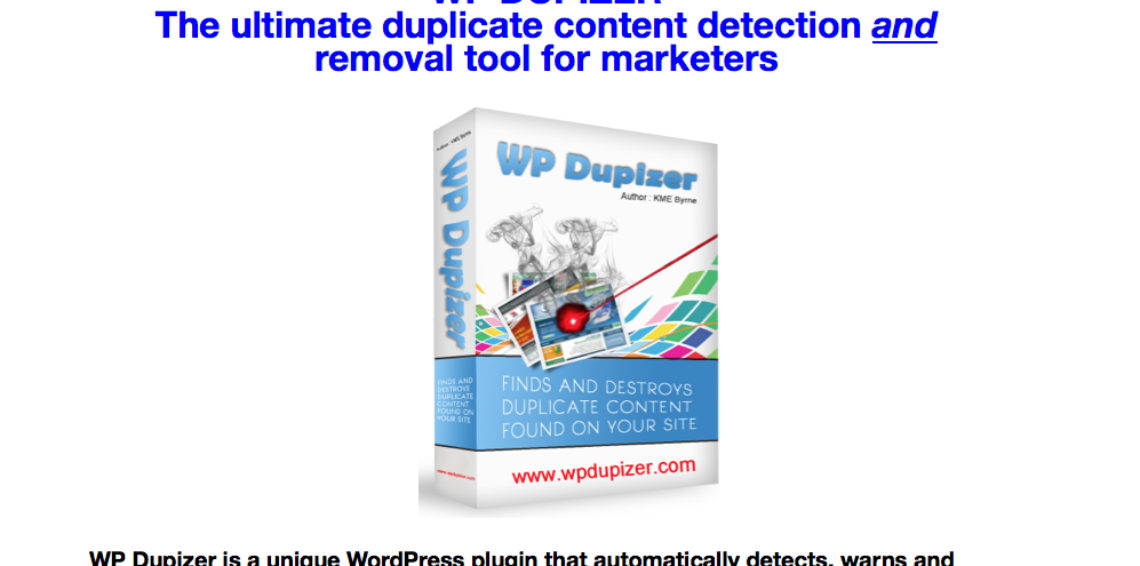 WP Dupizer Review And Bonus